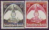 Deutsches Reich Mi.-Nr. 586/87 X **