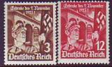 Deutsches Reich Mi.-Nr. 598/99 x **