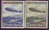 Deutsches Reich Mi.-Nr. 606/7 X (*)