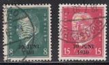 Deutsches Reich Mi.-Nr. 444/5 oo