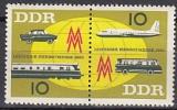 DDR Mi.-Nr. 976/77 ZD **