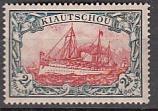 Dt. Kol. Kiautschou Mi.-Nr. 37 I A *