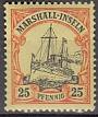 Dt. Kol. Marshall-Inseln Mi.-Nr. 17 *
