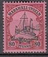 Dt. Kol. Marshall-Inseln Mi.-Nr. 21 **