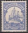 Dt. Kol. Marshall-Inseln Mi.-Nr. 16 *