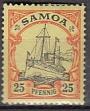 Dt. Kol. Samoa Mi.-Nr. 11 *
