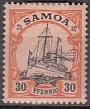 Dt. Kol. Samoa Mi.-Nr. 12 *