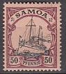 Dt. Kol. Samoa Mi.-Nr. 14 *