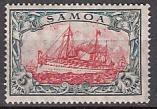 Dt. Kol. Samoa Mi.-Nr. 23 II A *