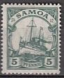 Dt. Kol. Samoa Mi.-Nr. 21 **