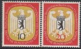 Berlin Mi.-Nr. 129/30 **