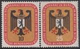 Berlin Mi.-Nr. 136/37 **