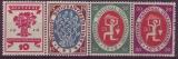 Deutsches Reich Mi.-Nr. 107/10 **
