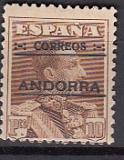 sp. Andorra Mi.-Nr. 12 C *
