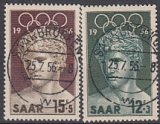 Saar Mi.-Nr. 371/72 oo