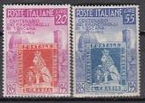 Italien Mi.-Nr. 826/27 **