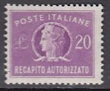 Italien - Gebührenmarken Brief - Mi.-Nr. 11 **