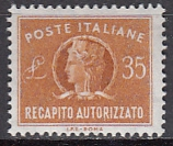 Italien - Gebührenmarken Brief - Mi.-Nr. 13 **