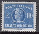 Italien - Gebührenmarken Brief - Mi.-Nr. 14 **