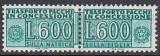 I - Gebührenmarken Paket - Mi.-Nr. 20 **