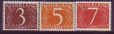 Niederlande Mi.-Nr. 612/14 YxA **