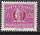 Italien - Gebührenmarken Brief - Mi.-Nr. 15 **