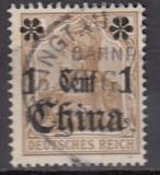 Dt. Kol. China Mi.-Nr. 28 oo