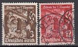 Deutsches Reich Mi.-Nr. 598/9 oo