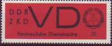 DDR Dienst D Mi.-Nr. 3 y **
