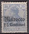 Dt. Kol. Marocco Mi.-Nr. 37 c oo (2)