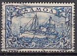 Dt. Kol. Samoa Mi.-Nr. 17 oo (1)