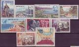 Monaco Mi.-Nr. 826/834 **