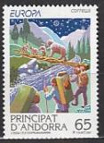 CEPT Andorra sp. 1997 **