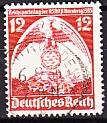 Deutsches Reich Mi.-Nr. 587 XII oo gepr.