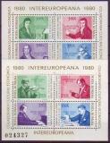 ML - Rumänien Blöcke 1980 **