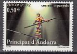 CEPT Andorra sp. 2002 **