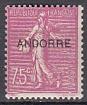 frz. Andorra Mi.-Nr. 15 **