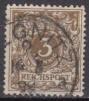 Deutsches Reich Mi.-Nr. 45 a oo gepr.