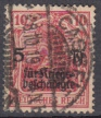 Deutsches Reich Mi.-Nr. 105 c oo gepr.