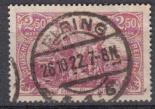 Deutsches Reich Mi.-Nr. 115 e oo gepr.