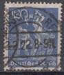 Deutsches Reich Mi.-Nr. 168 oo gepr.
