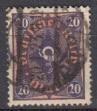 Deutsches Reich Mi.-Nr. 207 P oo gepr.