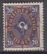 Deutsches Reich Mi.-Nr. 207 P I oo gepr.