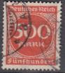 Deutsches Reich Mi.-Nr. 272 oo gepr.