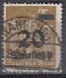Deutsches Reich Mi.-Nr. 281 oo gepr.
