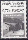 CEPT Andorra sp. 2004 **