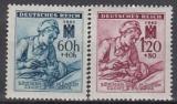 Böhmen und Mähren Mi.-Nr. 111/12 **