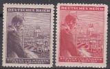 Böhmen und Mähren Mi.-Nr. 126/27 **