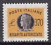 Italien - Gebührenmarken Brief - Mi.-Nr. 17 **