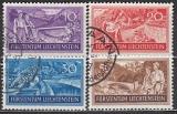 Liechtenstein-Mi.-Nr. 152/55 oo